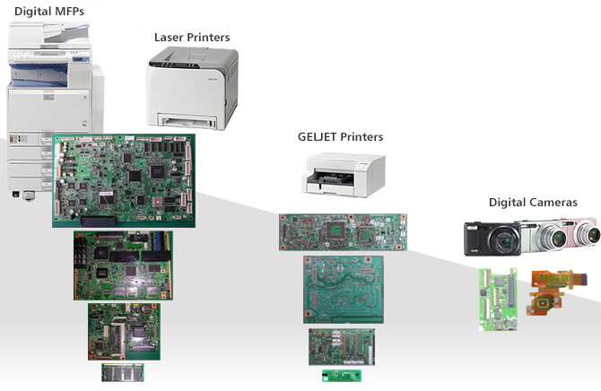 image:PCBs for Ricoh products