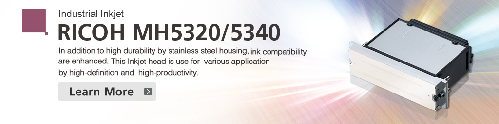Industrial Inkjet Printheads | Industrial Products | Ricoh